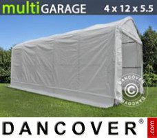 Tent multiGarage 4x12x4,5x5,5m, Wit