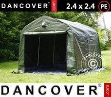 Tent multiGarage 3,5x10x3x3,8m, Wit