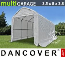 Tent multiGarage 3,5x8x3x3,8m, Wit