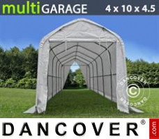 Tent multiGarage 4x10x3,5x4,5m, Wit